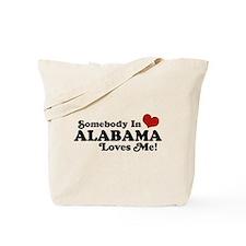 Somebody in Alabama Loves Me Tote Bag
