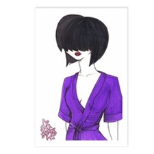 Lady in the Purple Robe Postcards (Package of 8)