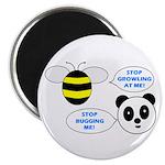 Bee & Panda Attitude/Humor Magnet