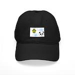 Bee & Panda Attitude/Humor Black Cap