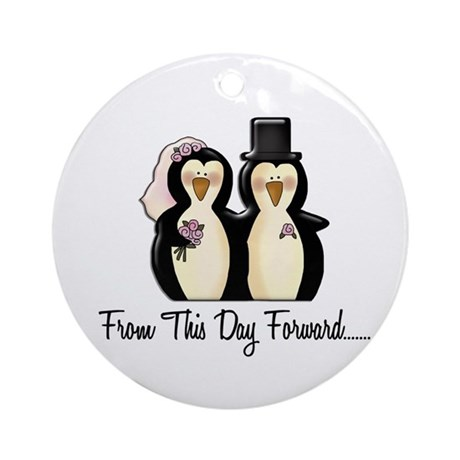 Mr & Mrs Penguin (From This Day Forward) Ornament