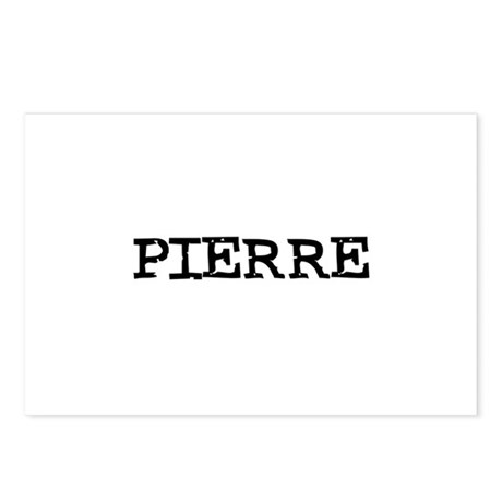 Pierre Postcards (Package of 8)