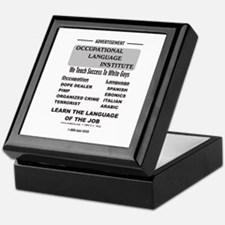 Occupational Language Keepsake Box