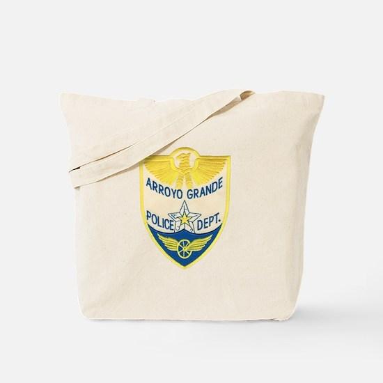 Arroyo Grande Police Tote Bag
