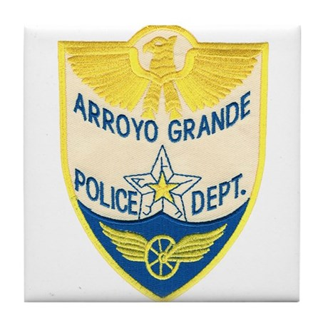 Arroyo Grande Police Tile Coaster