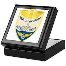 Arroyo Grande Police Keepsake Box