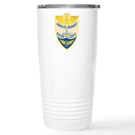 Arroyo Grande Police Stainless Steel Travel Mug