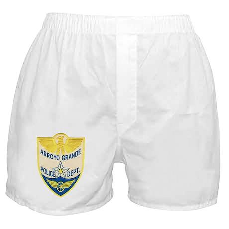 Arroyo Grande Police Boxer Shorts