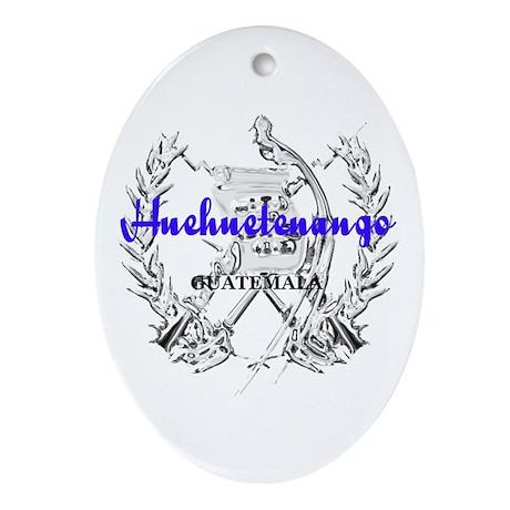 Huehuetenango Oval Ornament