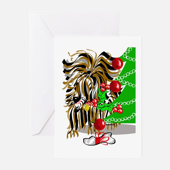 A Very Yorkie Christmas! Greeting Cards (Package o