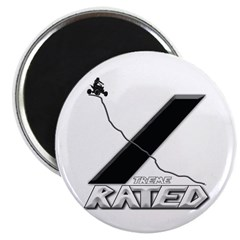 Xtreme Rated- Quad Racing Magnet