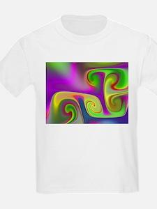 """Luminous 9"" Fractal Art T-Shirt"