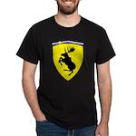 Moose Short Sleeve Dark T-Shirt 10 inch moose