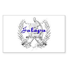 Jalapa Rectangle Decal