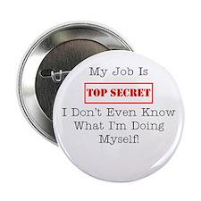 """Top Secret Jobs 2.25"""" Button"""