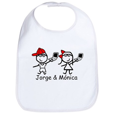 Laptops - Jorge & Monica Bib