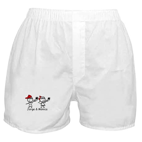 Laptops - Jorge & Monica Boxer Shorts