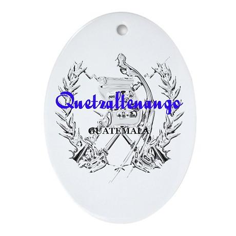 Quetzaltenango Oval Ornament