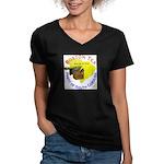 South Carolina Women's V-Neck Dark T-Shirt