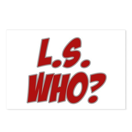L.S. Who? Postcards (Package of 8)
