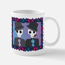 Day of the Dead Gay Wedding Mug