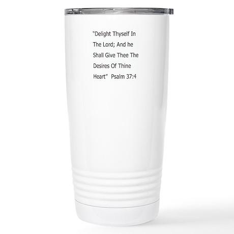 Bible Verse Stainless Steel Travel Mug