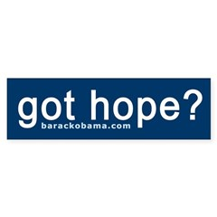 Got Hope? Bumper Bumper Sticker