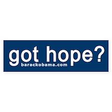 Got Hope? Bumper Bumper Sticker