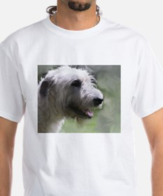Content Irish Wolfhound Shirt