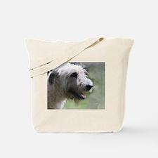 Content Irish Wolfhound Tote Bag