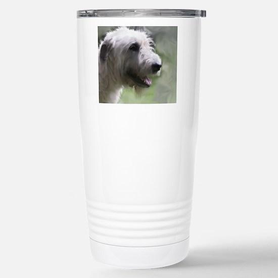 Content Irish Wolfhound Stainless Steel Travel Mug