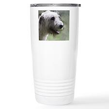 Content Irish Wolfhound Travel Mug