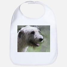 Content Irish Wolfhound Bib