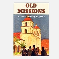 Mission Santa Barbara Postcards (Package of 8)