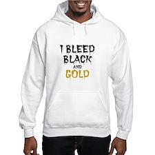 I Bleed Black & Gold Hoodie