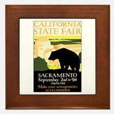 Sacramento CA State Fair Framed Tile