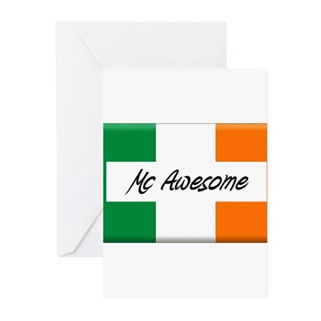 Mc Awesome Greeting Cards (Pk of 20)