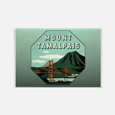 Mr. Tam Mount Tamalpais Rectangle Magnet