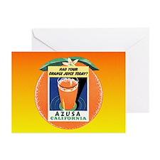 AZUSA California CA Greeting Cards (Pk of 20)