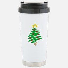 CHRISTMAS TREE (HAND-DRAWN) Travel Mug