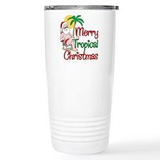 MERRY TROPICAL CHRISTMAS! Travel Mug