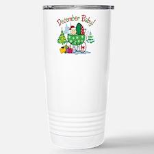 DECEMBER BABY! (in stroller) Travel Mug