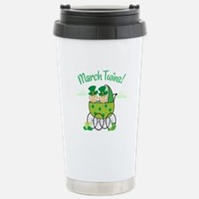 MARCH TWINS! Stainless Steel Travel Mug