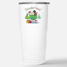 DECEMBER TWINS! Travel Mug