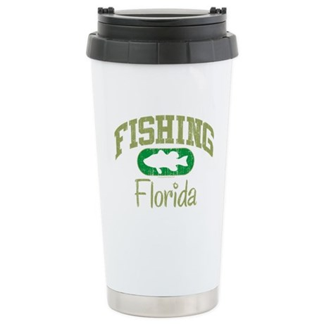 FISHING FLORIDA Stainless Steel Travel Mug