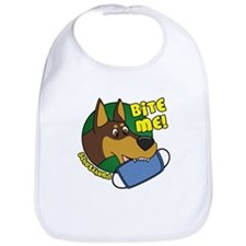 Bite Me Doberman Pinscher Bib