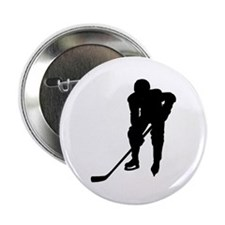 Hockey Player Button
