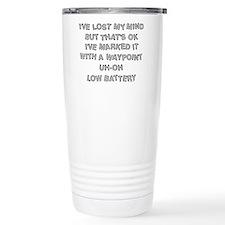 Geocacher Lost Mind Travel Mug