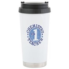 #1 CHEMISTRY TEACHER (Blue) Travel Mug