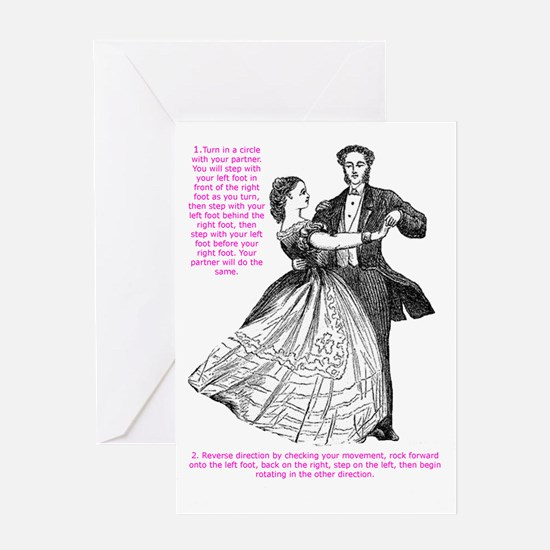 Viennese Waltz Greeting Card